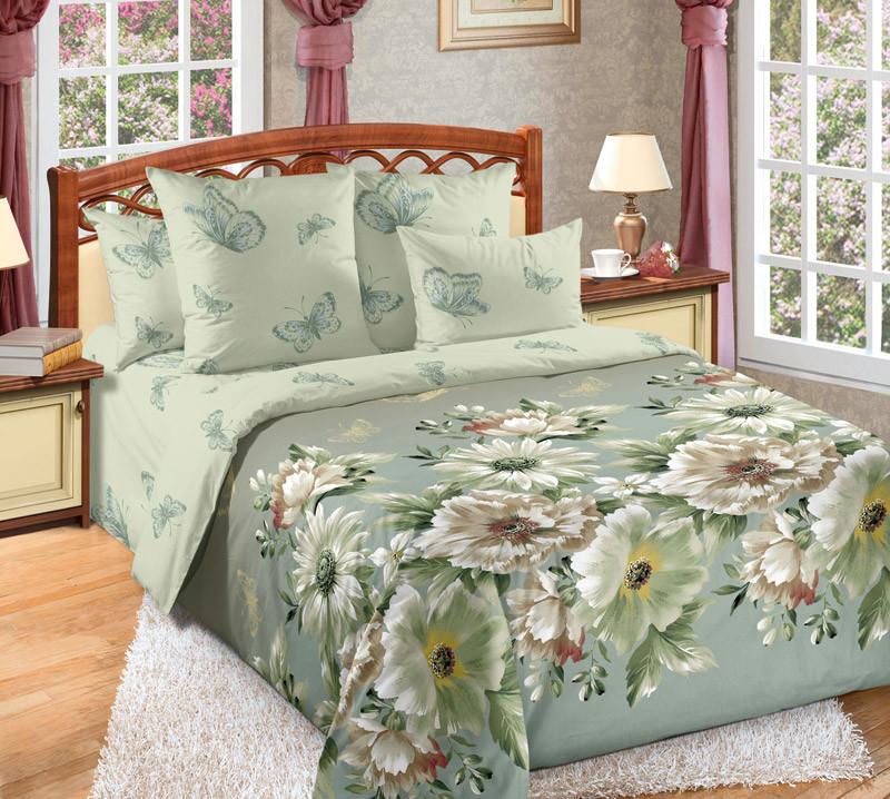 Комплект постельного белья зима-лето, 2-спальный перкаль (Каролина)