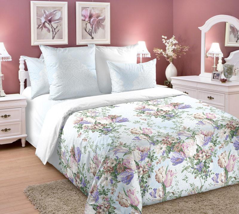 Комплект постельного белья зима-лето, 2-спальный перкаль (Тициана)