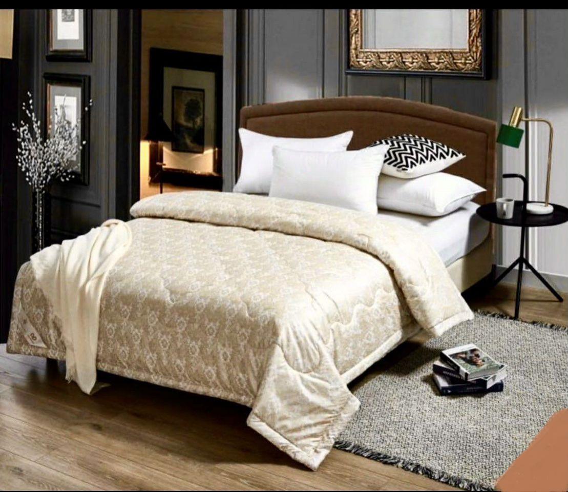 """Одеяло 1,5-спальное """"Шелк"""", лёгкое"""