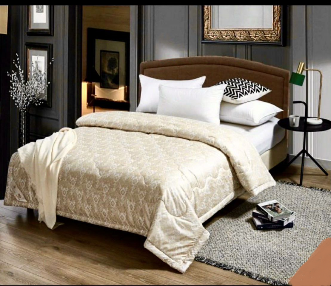 """Одеяло 2-спальное """"Шелк"""", лёгкое"""
