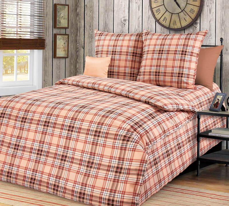 """Комплект постельного белья 1,5-спальный, бязь """"Люкс"""" (Денди)"""
