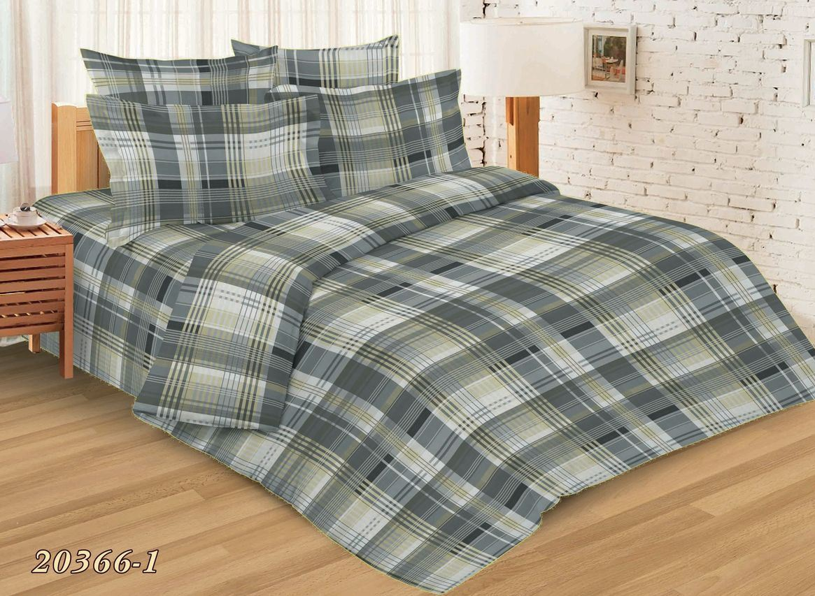 Комплект постельного белья Евростандарт, бязь Шуйская ГОСТ (Айвенго)