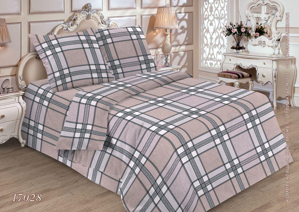 Комплект постельного белья 1,5-спальный, бязь ГОСТ (Энтони)