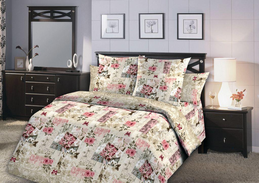 Комплект постельного белья 1,5-спальный, бязь ГОСТ (Винтаж)