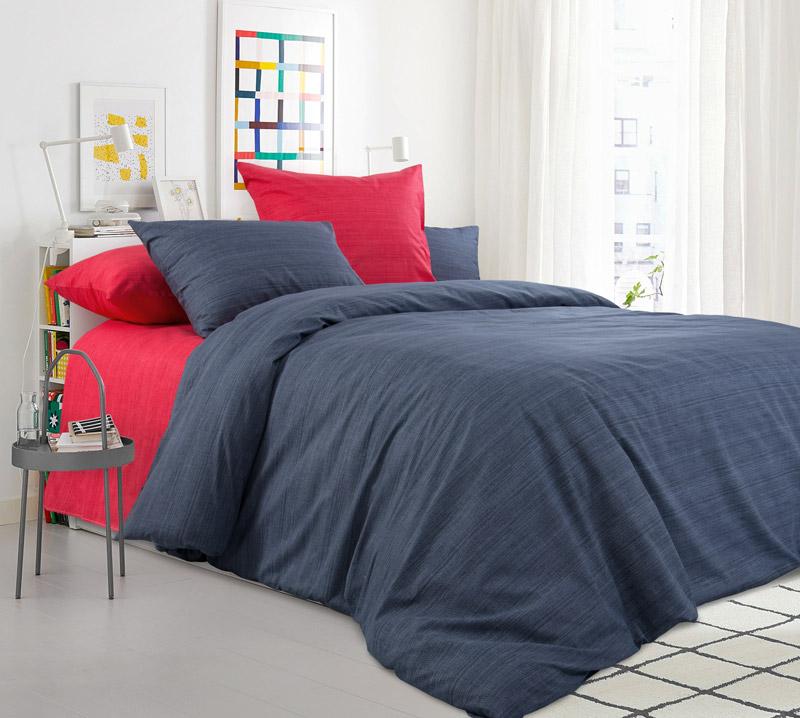 Комплект постельного белья Евростандарт, перкаль (Бушующий вулкан)