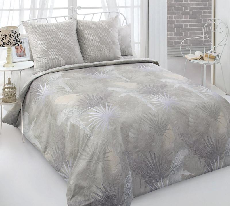 Комплект постельного белья 2-спальный с Евро простыней, перкаль (Жако)