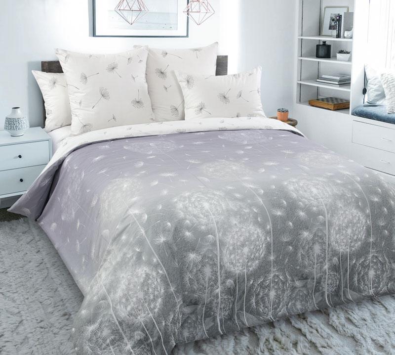 Комплект постельного белья 2-спальный с Евро простыней, перкаль (Поднебесье)