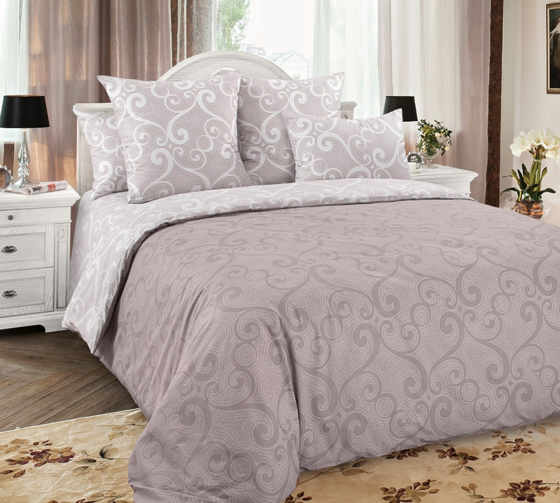 Комплект постельного белья 2-спальный, перкаль (Танец ветра)
