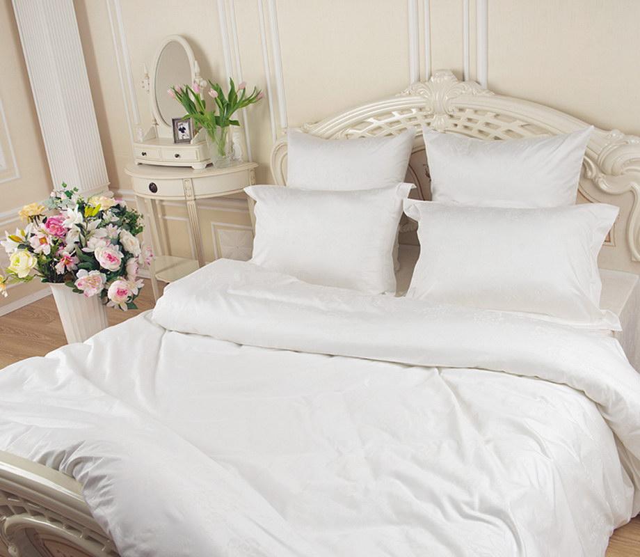 Комплект постельного белья 1,5-спальный, перкаль (Снежанна)