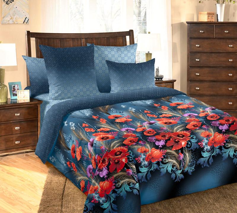 Комплект постельного белья 1,5-спальный, перкаль (Искушение)