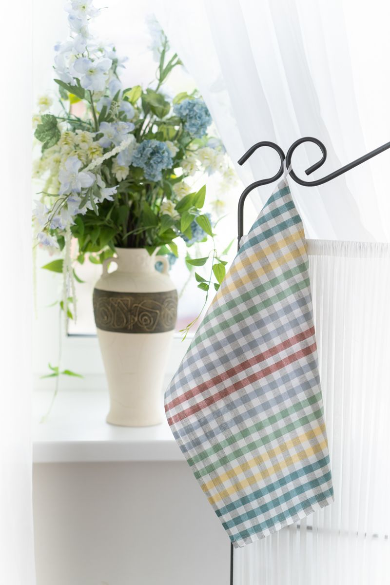 Полотенце кухонное 50*70см, полулен (Вид 9)