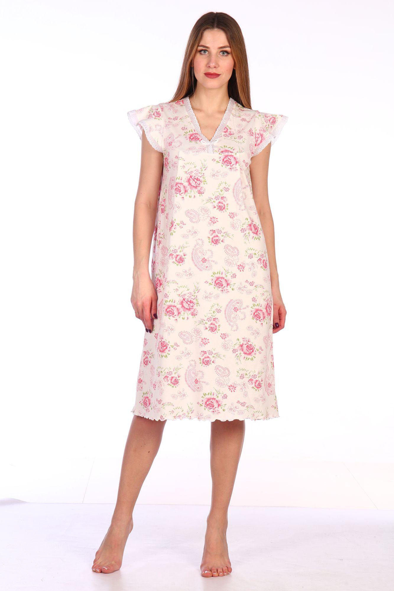 Сорочка ночная женская,мод. 427, трикотаж (Восторг)