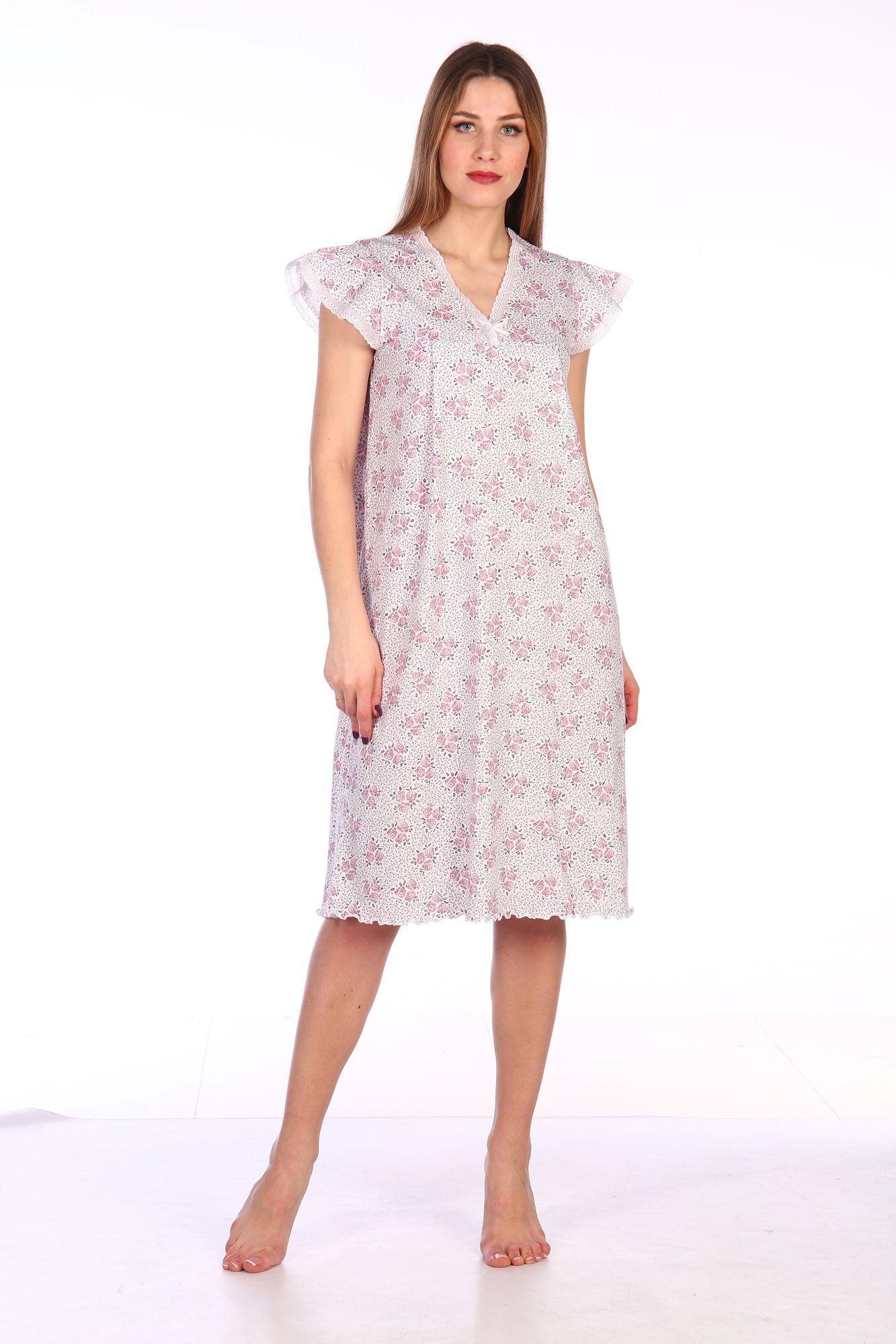 Сорочка ночная женская,мод. 427, трикотаж (Амалия )