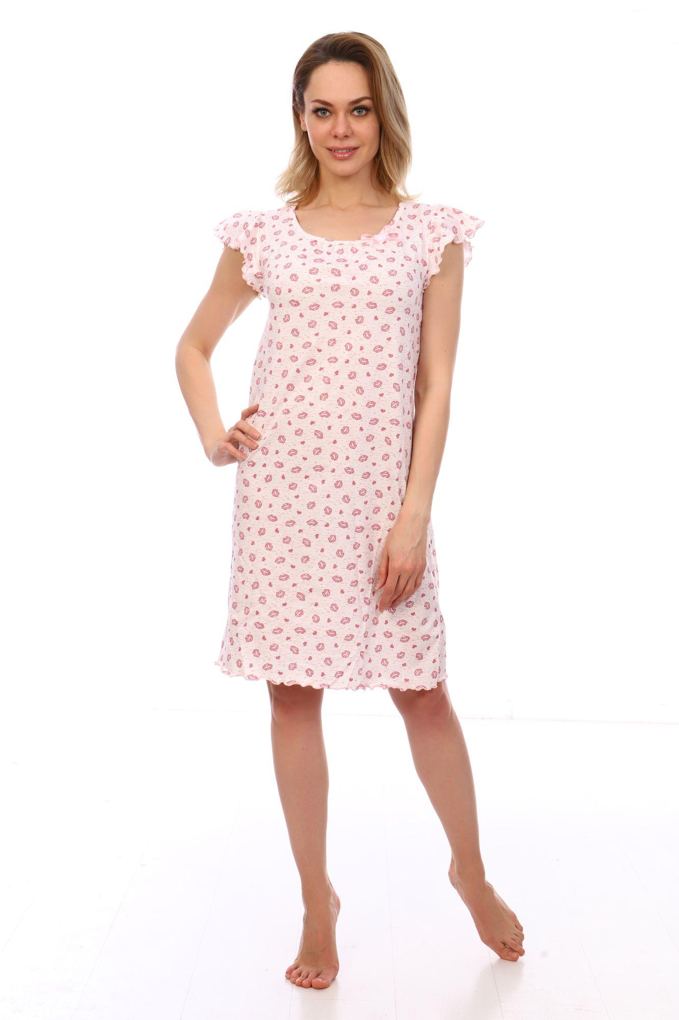 Сорочка ночная женская,мод. 426,трикотаж (Амур)