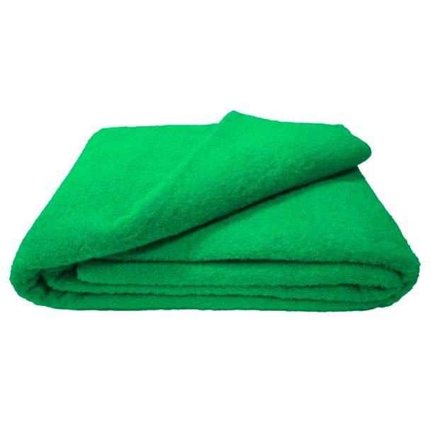 Махровая простыня 180*220 см г/кр (Классический зеленый)