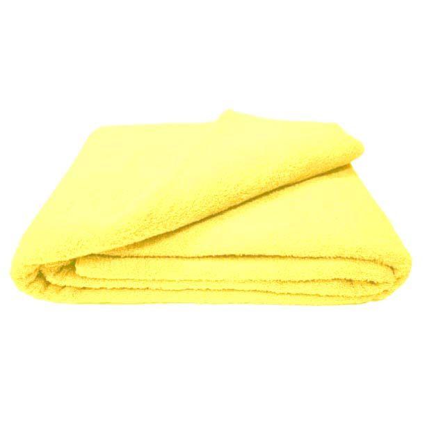 Махровая простыня 150*220 см г/кр (Лимонный)