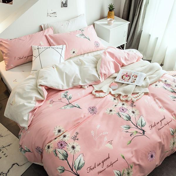 Комплект постельного белья 2-спальный, поплин (Чувства)
